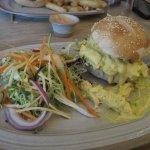 Coronation chicken sandwich!! SOOOO good!