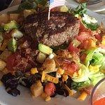 bison on a salad