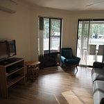 Studio Apartment's living room