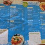 Part of menu.