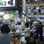 Chiangmai well known sausage stall