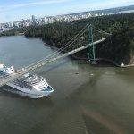 Lions Gate Bridge, Stanley Park and Vancouver