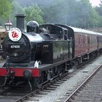 'Jinty' arriving at Wirksworth