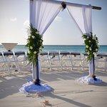 Beach Wedding Set up Manchebo