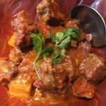 Burmese beef curry with potato