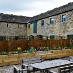 17th Century farm buildings and courtyard