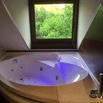 La bañera de hidromasaje