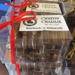 Railway's own hand made chocolate. DELICIOUS!