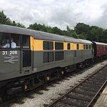 Class 31 arrives Wirksworth