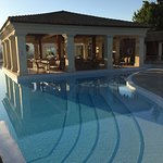 Pool area and views