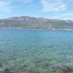 View from Marjan Beach