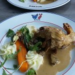 Le poulet de Bresse.