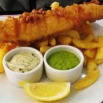 Oven baked fish and chips