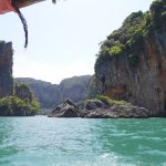 View from longtail boat