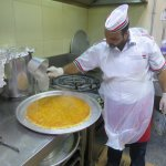 We even got into the kitchen to learn how kunafa is made.