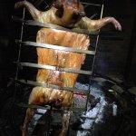 Pig roasting