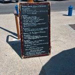 Ardoise : menus mer ou terre à 32€