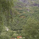 Look at Flam Camping from across the valley