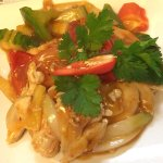 Thai style sweet and sour chicken