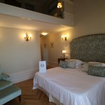 2 level suite with private balcony overlooking Bay of Naples