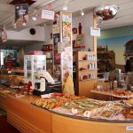 choice of sandwiches, salads, pizza, and other bakeries