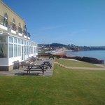 front hotelu od strony morza