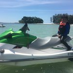 jet ski: a must try for thrill-seekers