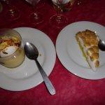 ile flottante tarte meringuée