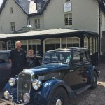 The hotel proprieters by our 1936 Wolseley