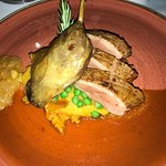 Med Restaurant Foto