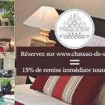 réservez sur le site de l'hôtel en direct et profitez de 15% de remise immédiate