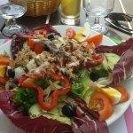 salade niçoise de l'hotel