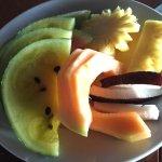 petit déjeuner & fruit des iles