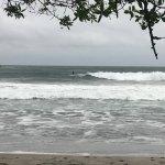 Surf spot within short walk.