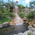 Alpine Garden waterfall