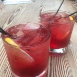 Strawberry coctails