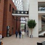 Entrance to the Cruise ship exhibit