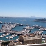 Views over Palma harbour