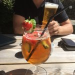 Proper sized Pimms but does appear to change with whomever is making it