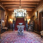 Mansion foyer & grand staircase
