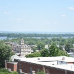View of Hannibal & the Mississippi River from Mr. Cruikshank's bedroom