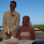 My wedding at capo bay 19th June 2008