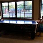 Free air hockey! Looks like new table!