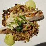 Lemon whitefish and couscous