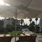 Breakfast outside area