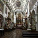 Gorgeous Church. I'd highly recommend a stop in to see it. And don't be cheap, drop a Europe two