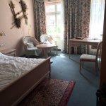 Our room in the Hotel am Josephsplatz.