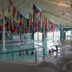 The huge hot pool