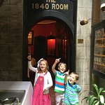 Children excited about their fine dining experience