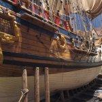 A replica of the Nonsuch ship to explore